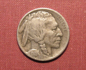 1915-D BUFFALO NICKEL - STRONG DETAILS, NICE CONDITION, EARLY SEMI-KEY!