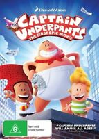 Captain Underpants DVD NEW Region 4 Dreamworks