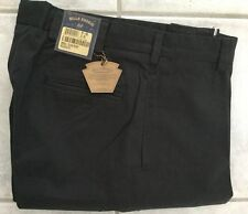 BRAND NEW-Bills khakis M1-BCC Size 42 PLAIN CHAMOIS CLOTH BLACK MSRP $165