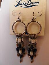 Lucky Brand Sealife Beaded Earrings MSRP $39