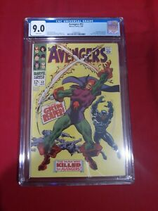 The Avengers # 52 CGC 9.0 ( June 1968 ) 1st App Grim Reaper!