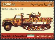 Sd.Kfz.3b Maultier WWII Half-Track Ford Truck Anti-Aircraft Vehicle Car Stamp