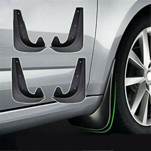 4PCS Car Universal Mud Flaps Splash Guards Auto Front Rear Fender Accessories