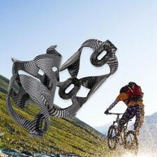 Carbon Fiber Side Entry Bicycle Cycling Road Bike Water Bottle Holder Cage