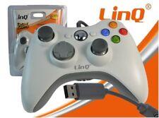 Joypad Con Cavo Filo Per XBOX 360 Bianco Linq LI-Y360 Compatibile