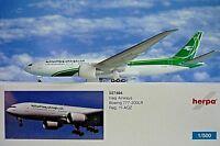 Herpa Wings 1:500 Boeing 777-200LR Iraqi Airways YI-AQZ  527484 Modellairport500