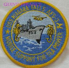 PUS486 - US NAVY USS NIAGARA FALLS AFS-3 PATCH