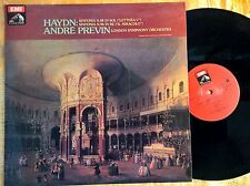 "DISCO HAYDN SINFONIE N.88 ""LETTERA V"" N.96 ""IL MIRACOLO"" - ANDRE PREVIN - EMI EX"
