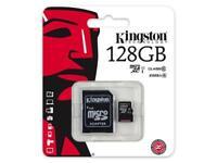 128GB Micro-SD Speicherkarte KINGSTON MicroSD Karte Class 10 SDHC UHS-I C10