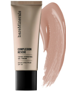 bareMinerals Complexion Rescue Tinted Hydrating Gel Cream Tan 07  1.18 oz New