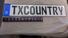 "Txcountry Street Sign 4.5"" x 20.5""  Metal Sign"