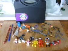 PLAYMOBIL  PIRATE'S CASE / PEOPLE , KNIVES, GUNS LOTS OF OTHER PIECES AGES 5+