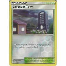 Lavender Town 147/181 - Uncommon Reverse Holo - Pokemon Sun & Moon Team Up SM-9
