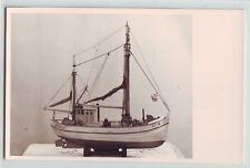 Foto  Schiffsmodell Segelschiff Holzschiff Fischkutter Johannes Norddeich AY14