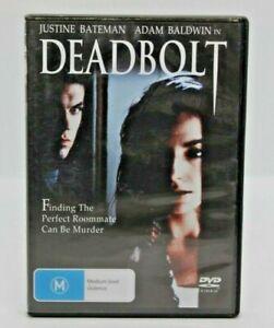 DEADBOLT (DVD R4) Free Post, Justine Bateman, Adam Baldwin