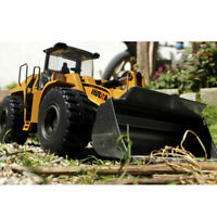 1:14 HUINA 583 Alloy Bulldozer RC Excavator Engineering Truck Vehicle IN Stock