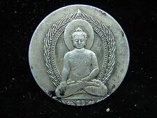 Jolie ancienne médaille, bouddha, argent ?