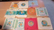 LOT OF 11 1970S POP 45s DONNY OSMOND POPPY FAMILY MAUREEN MCGOVERN CLINT HOLMES