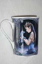 Anne Stokes Coffee Mug Cup bone China Gothic Fairy Fantasy Art water dragon