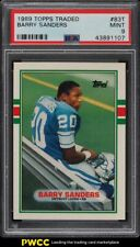 1989 Topps Traded Barry Sanders ROOKIE RC #83T PSA 9 MINT