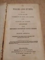 1848 Reformed D.C. Psalms and Hymns Protestant Dutch Church RELIGIOUS USA