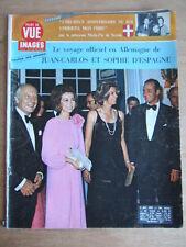 POINT DE VUE IMAGES DU MONDE 1972 N° 1263 JUAN CARLOS ESPAGNE,  ROI UMBERTO