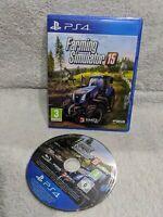Farming Simulator 15 2015 Good Condition UK PAL Sony Playstation 4 PS4 farmers A