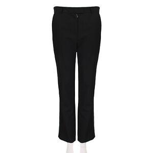 J.W.Anderson Black Tuxedo Trousers Pants UK10 IT42