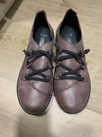 NWOT Jungla Women Leather Comfort Shoes Snickers Slip On Size 40, US 9 Spain