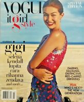 Gigi Hadid Vogue Magazine It Girl Style Special Edition Fall 2016 NO LABEL NEW