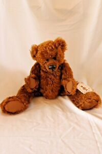 """Gund Collectors Artist Teddy Bear Mohair Jointed """"My Name is Chesterfield"""""""