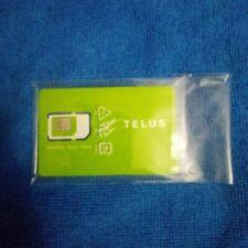 Telus Prepaid SIM card Standard/Nano/Micro Tri-Sim 3g/4g/Lte NEW from 2019