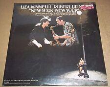 NEW YORK, NEW YORK Soundtrack Liza Minnelli/Robert de Niro United Artists SEALED