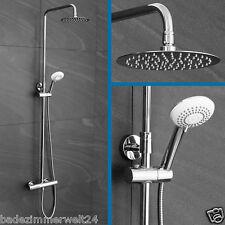 Duschsystem Duschsäule Regendusche Duscharmatur mit Thermostat Eco