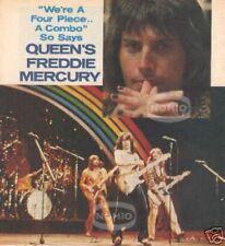 vintage Freddie Mercury Queen & Bad Company mag photo