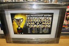 RICHMOND TIGER HALF CUP PREMIERS SET BOX FRAMED OFFICIAL AFLPA CERTIFICATE