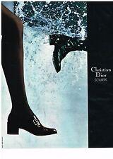 PUBLICITE  1971   CHRISTIAN DIOR  boutique SOULIERS   chaussures