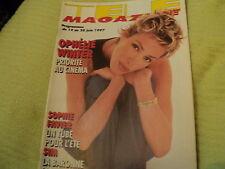 """TELE MAGAZINE N°2171 - 1997"" Ophelie WINTER, Sophie FAVIER, Francoise FABIAN"