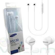 Cuffie+microfono originali SAMSUNG HS130 BIANCHE per Sony Xperia Z1 Z2 Z3