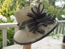 SPECTACULAR JENDI MIST  BLACK & WHITE  HAT
