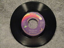 "45 RPM 7"" Record The Whispers This Kind Of Lovin & What Will I Do Solar YB-12295"