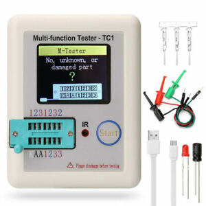 Transistor Tester Capacitance Meter Electronic Component NPN PNP JFET LCR-TC1