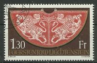 LIECHTENSTEIN/ Krönungsmantel MiNr 634 o Ersttagstempel
