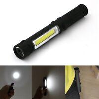 Multifunction COB LED Torch Magnetic Pocket Pen Clip Work Light Inspection Lamp