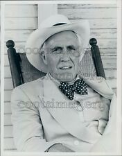 1985 Actor Jason Robards in TV Miniseries Long Hot Summer Press Photo