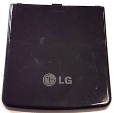 LG CU920 Cell Phone Battery Door Back Cover Housing Case Black Replacement OEM