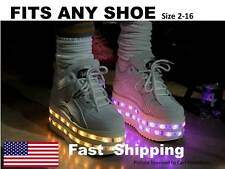 LED Shoe KIT -- light up YOUR shoes -- fits ANY shoe - ANY size -- Universal KIT