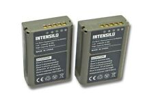 2x Batterie Intensilo 1140mAh pour Olympus OM-D E-M5 Mark II / EM5