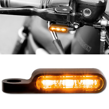Harley Sportster SMD Clignotant + Clignotant Support Noir Anodisé guidon robinetterie