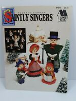 Saintly Singers Plastic Canvas Christmas Patterns Annies Attic Carolers Angles